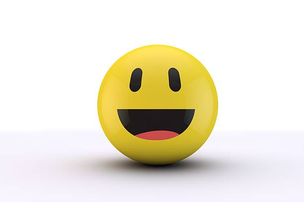 Happy smiling face emoji - Photo