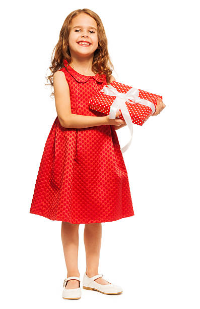 fd12e88e9af Top Cute Happy Laughing Baby Girl In Christmas Dress And Hat Pictures
