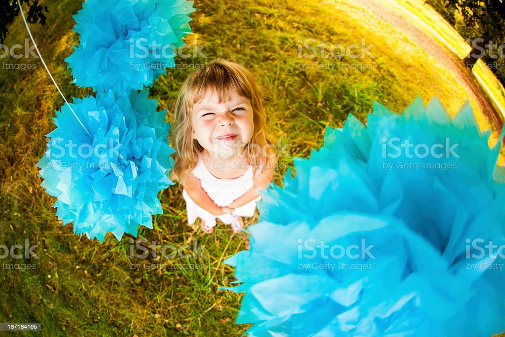 Happy Smiling Little Girl royalty-free stock photo