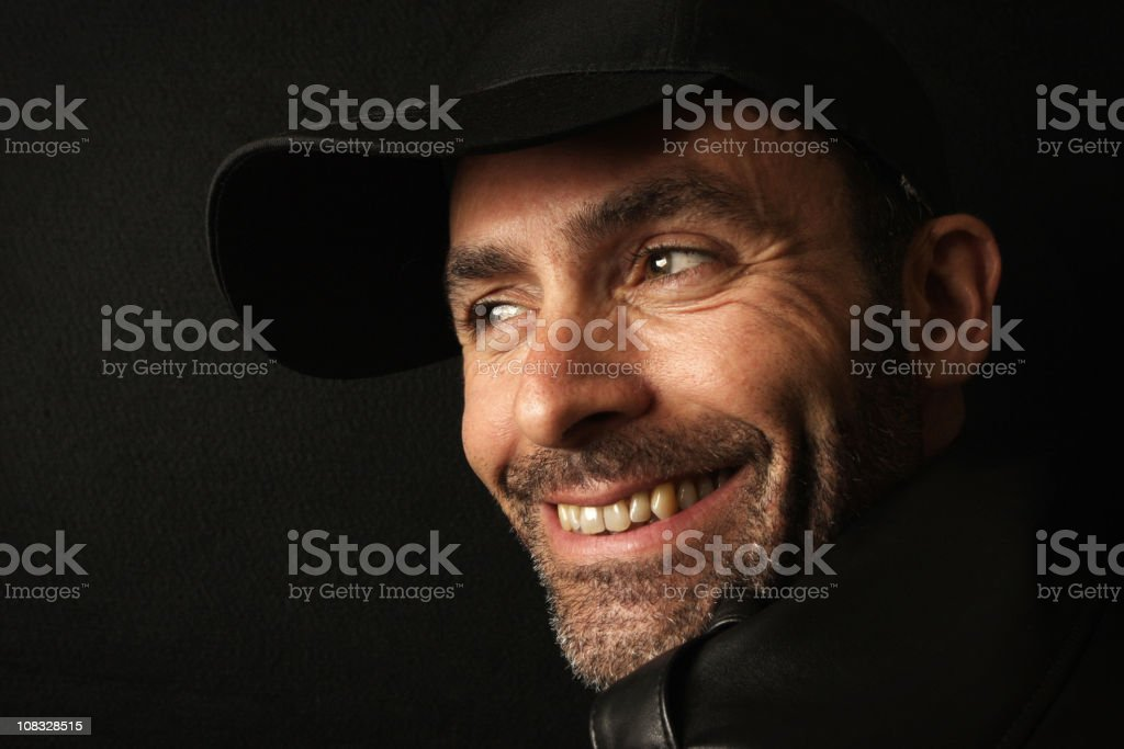 Happy Smiling Man stock photo