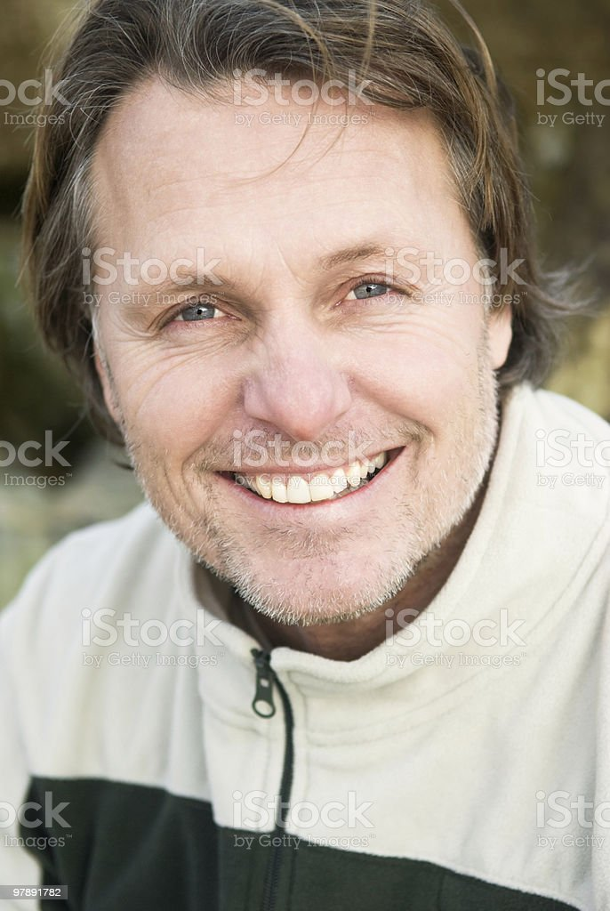 happy smiling man royalty-free stock photo