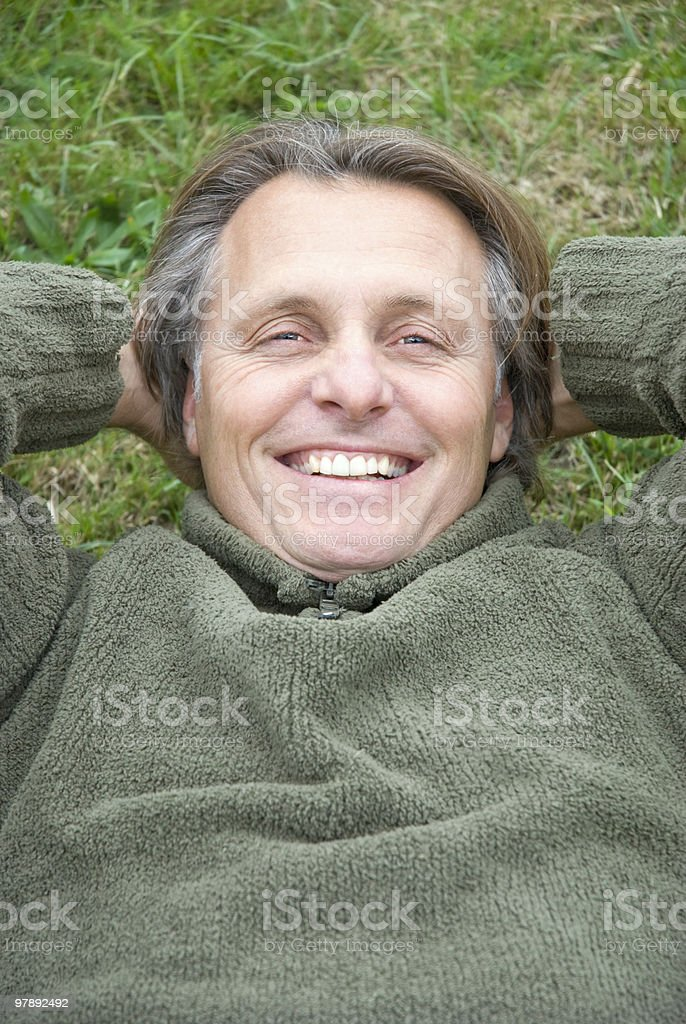 happy smiling man royalty-free stock photo