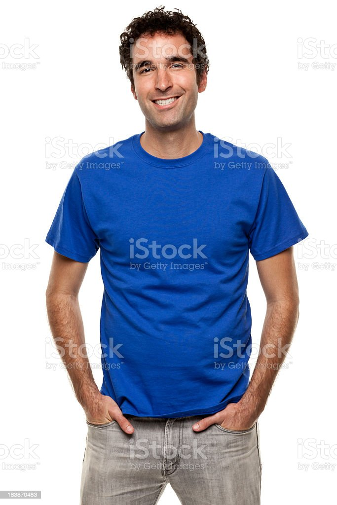 Happy Smiling Man Portrait royalty-free stock photo