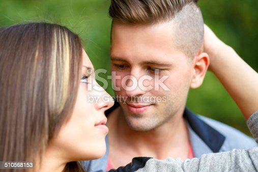 510491454istockphoto Happy smiling young couple outdoor 510568153