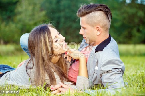 510491454istockphoto Happy smiling young couple outdoor 510568335