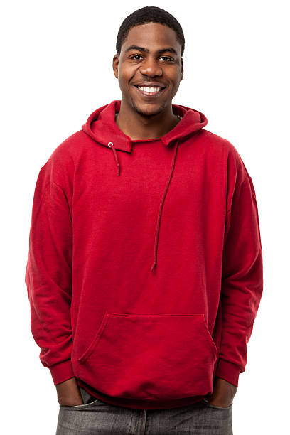 Happy Smiling Young Man Waist-up Portrait stock photo