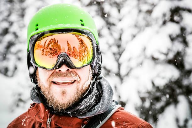 Happy snowboarder wearing helmet and goggles at the ski mountain picture id857245454?b=1&k=6&m=857245454&s=612x612&w=0&h=lpjk8 megq1rcdlirbtiecetcw5xevcbzacntbw9 us=