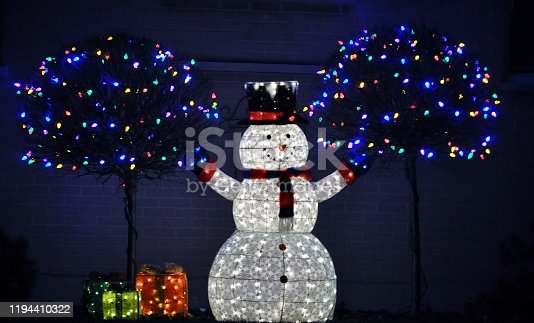 Christmas outdoor decoration.