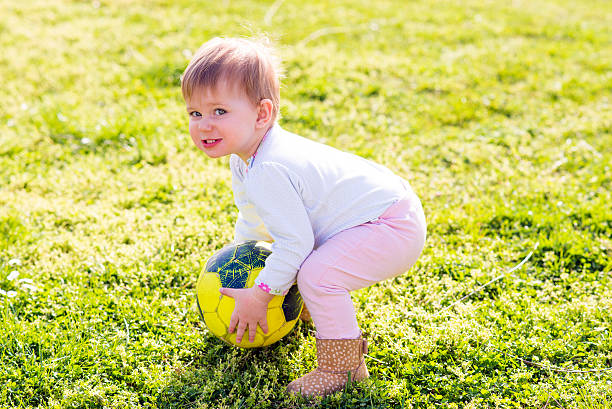 Best Toddler Kicking Ball Stock Photos Pictures Amp Royalty