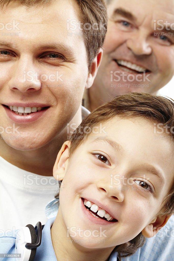 Happy son royalty-free stock photo