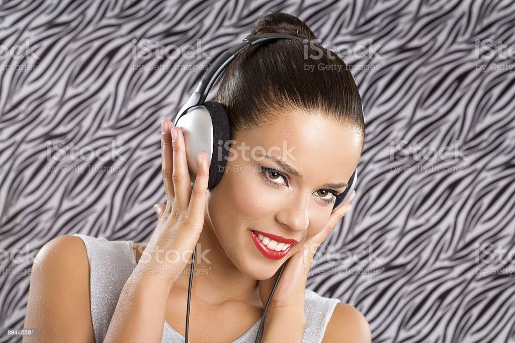Heureux de sons photo libre de droits