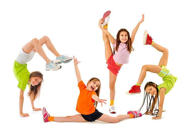Glückliche sportliches Kinder – Foto