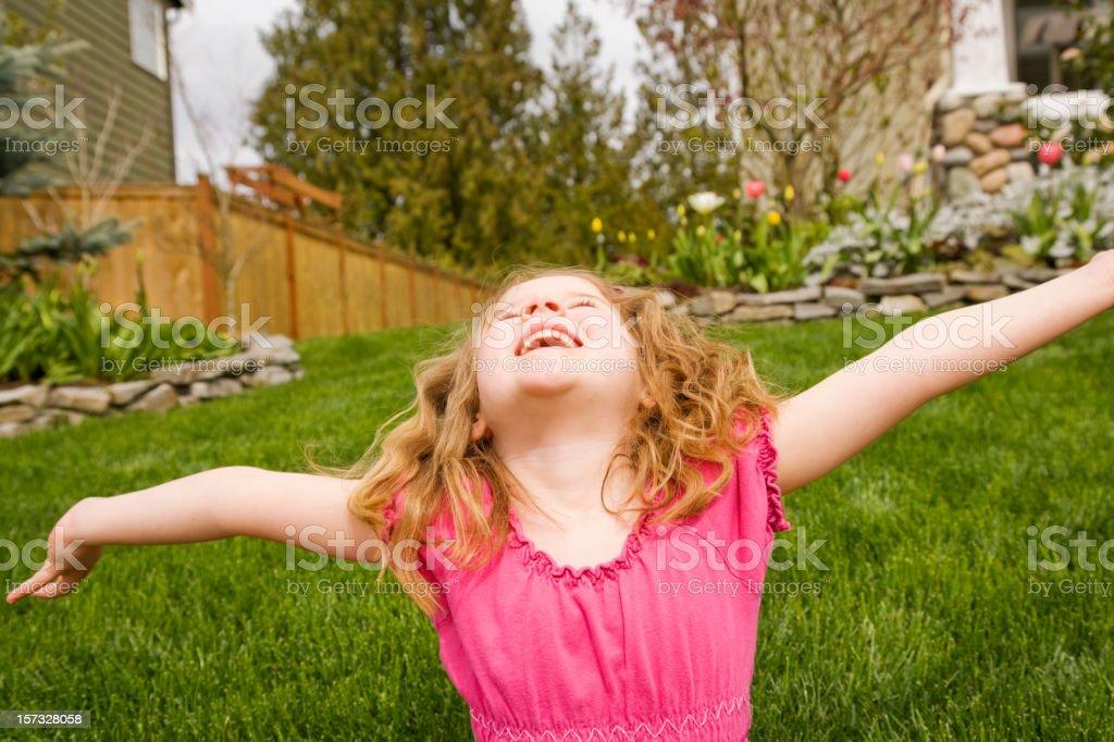 Happy Spring stock photo