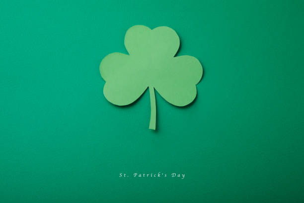 happy st. patrick's day good concept card. - st patricks days stock photos and pictures