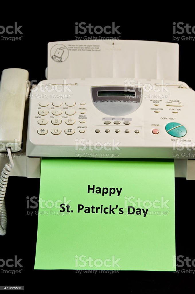 Happy St. Patrick's Day royalty-free stock photo