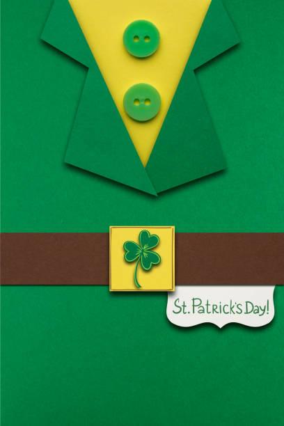 happy st. patricks day. - st. patrick's day stock-fotos und bilder