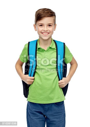istock happy student boy with school bag 510061536