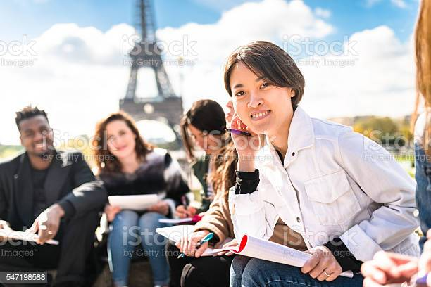Happy student in paris during the lesson picture id547198588?b=1&k=6&m=547198588&s=612x612&h=q2gyp9sbqzxgcgo nfm3pwubqpjxa8j5irx lx7yyq8=