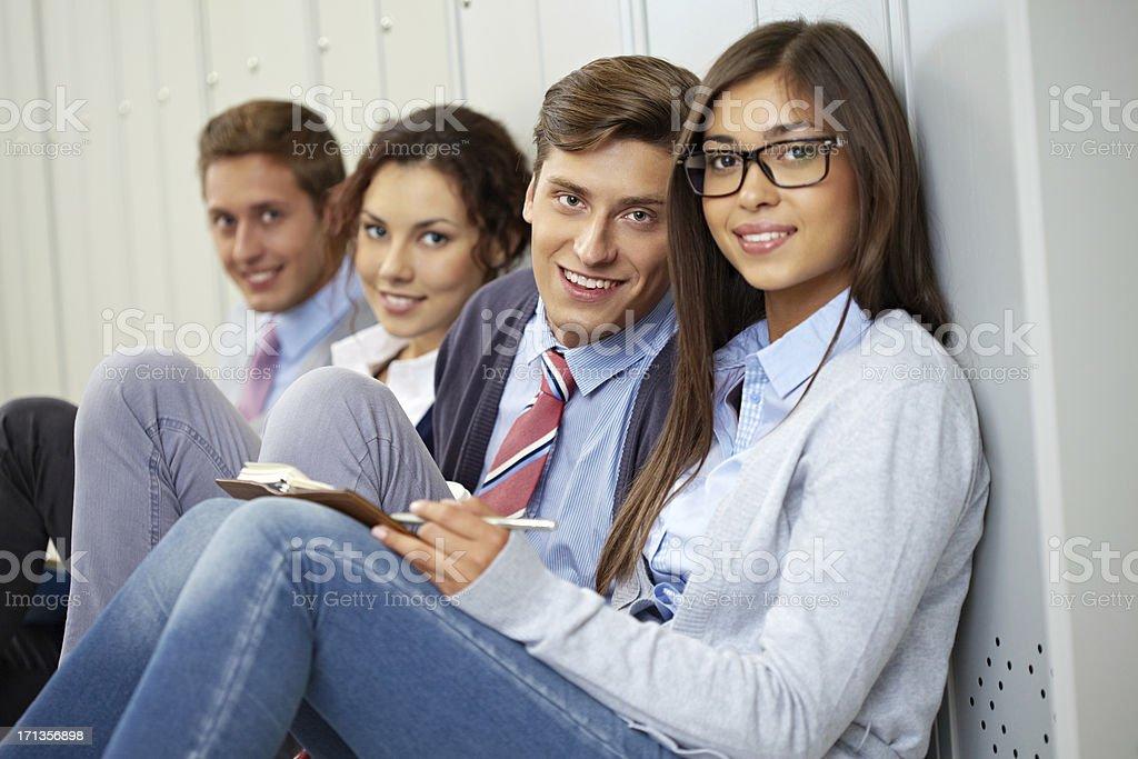 Glückliche Studenten – Foto