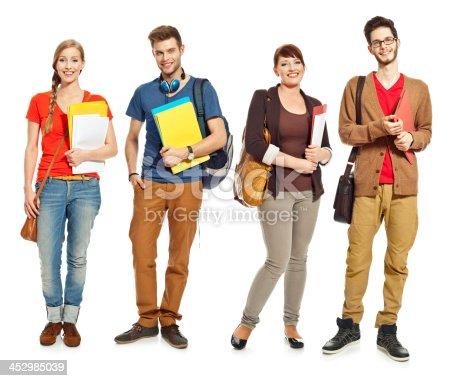 istock Happy students 452985039