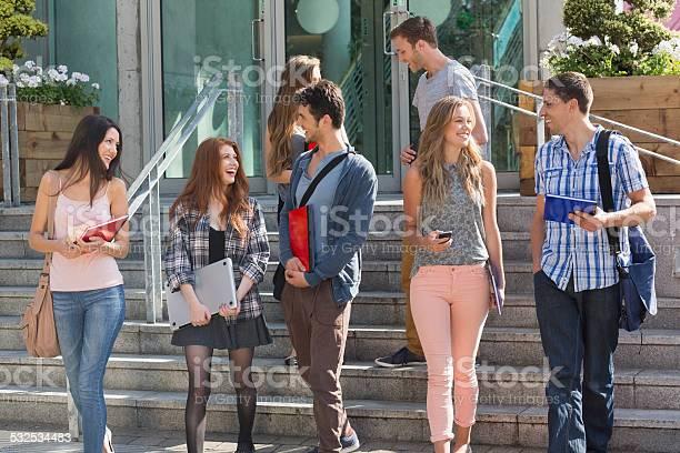 Happy students walking and chatting outside picture id532534483?b=1&k=6&m=532534483&s=612x612&h=mfnmvoreuivhqh b4l7dbkt0kgzouxt5qmz3t5cwdxi=