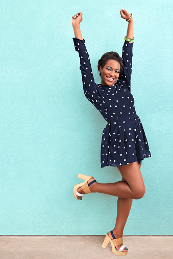 istock Happy Summer African American Woman 476813482