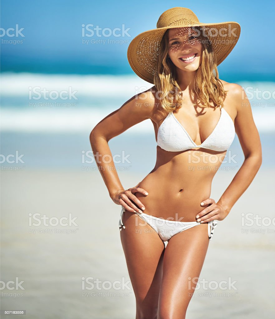 Happy summer days are here stock photo