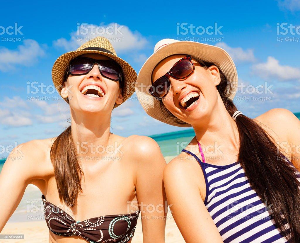 Happy summer days! stock photo