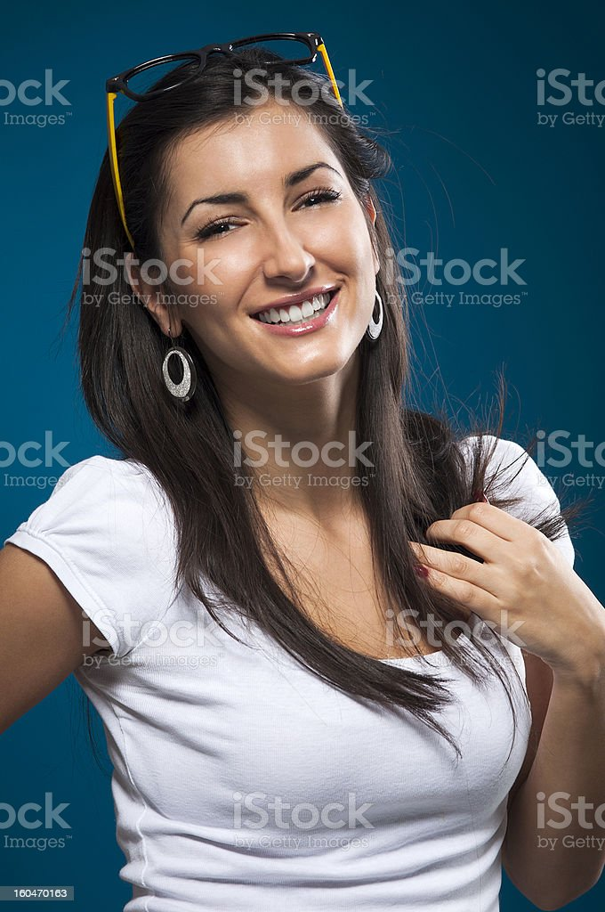 Happy Summer Girl royalty-free stock photo