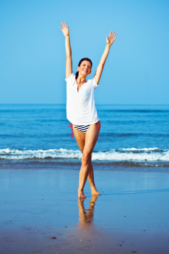 Happy Summer Holiday Stock Photo - Download Image Now