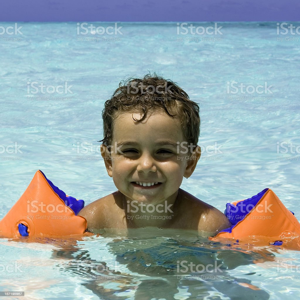 happy summer holidays royalty-free stock photo