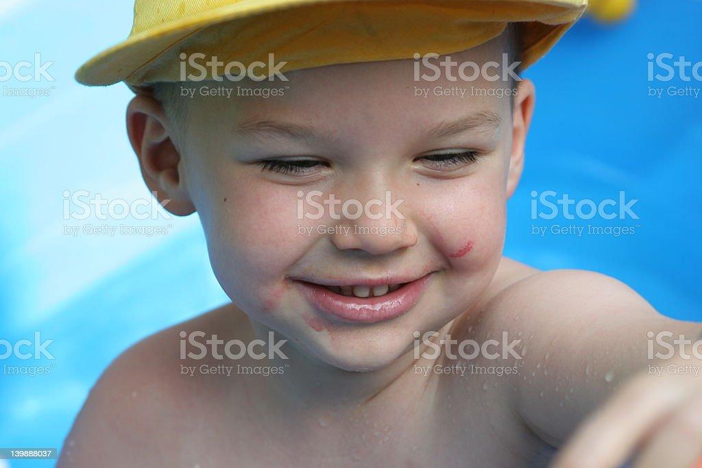 Happy summer royalty-free stock photo