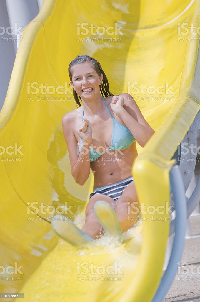 Happy summer vacation royalty-free stock photo