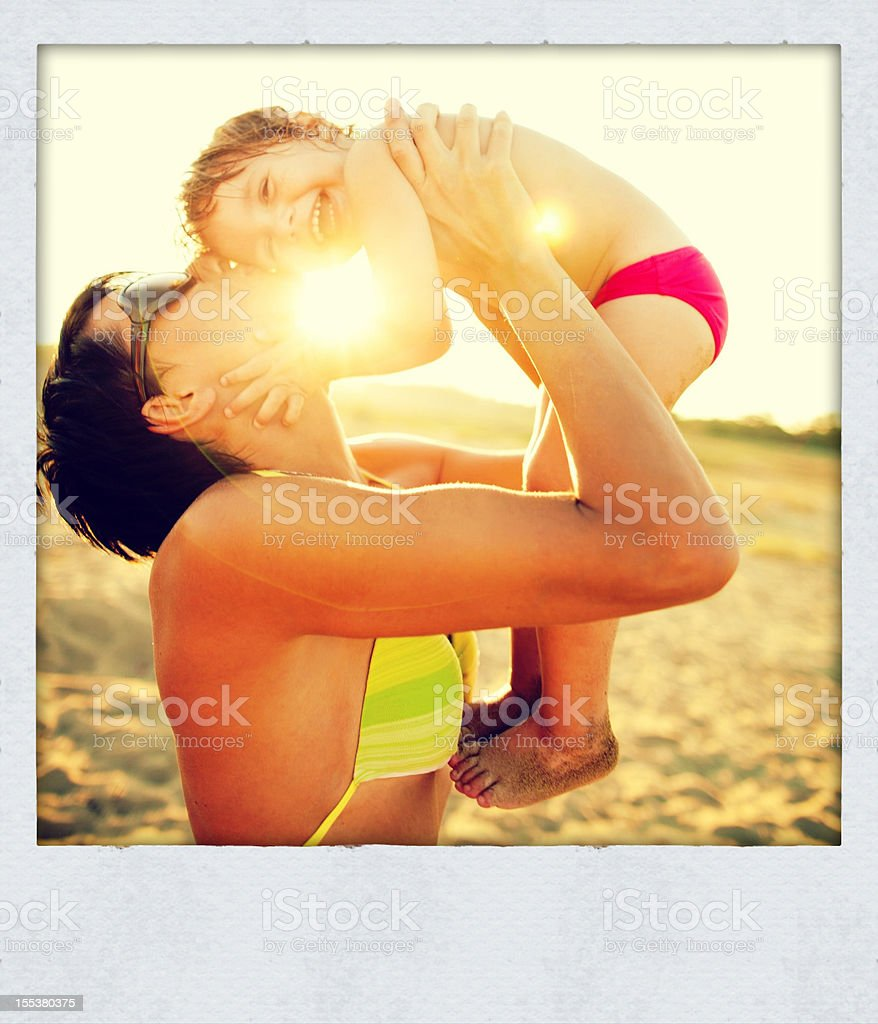 Happy summertime royalty-free stock photo