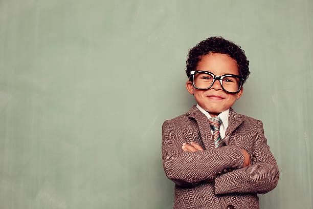 Happy Teacher stock photo
