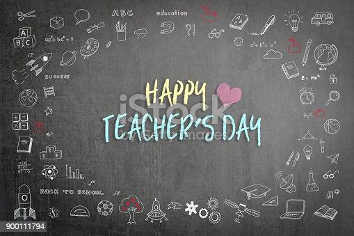 977488078 istock photo Happy teacher's day 900111794