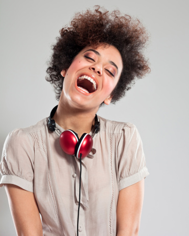 Happy Teen Girl Stock Photo - Download Image Now
