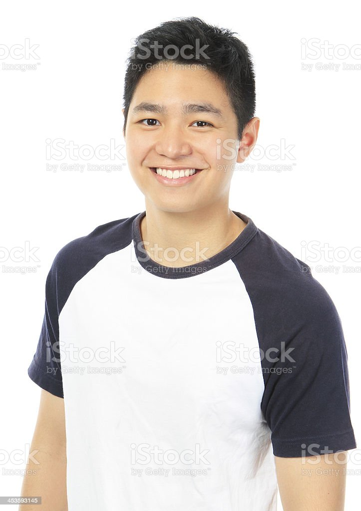 Happy Teen stock photo