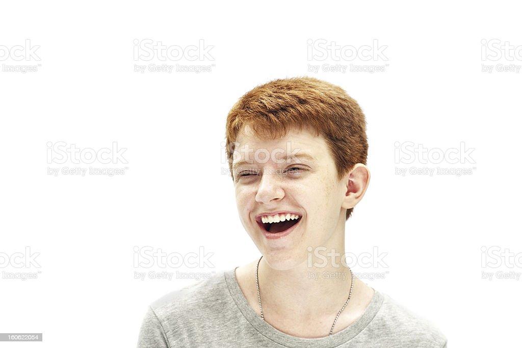 Heureux jeune garçon - Photo