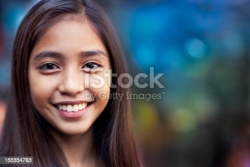 istock Happy teenage girl 155354763