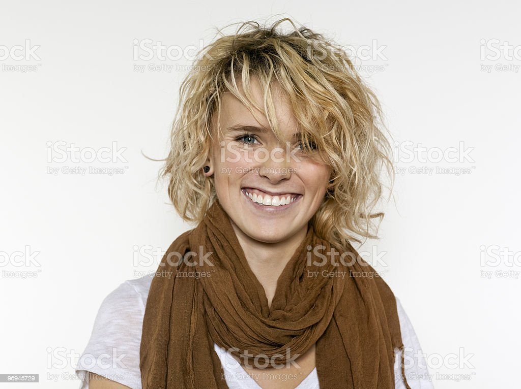 Happy Teenage Girl royalty-free stock photo