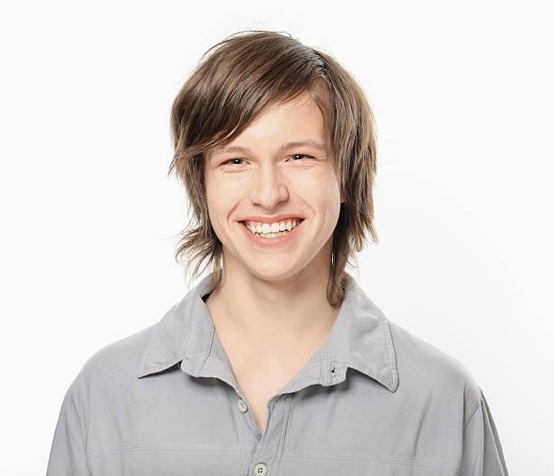 Glückliche Teenager Lächeln Porträt. – Foto