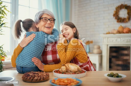 istock Happy Thanksgiving Day 1180366598