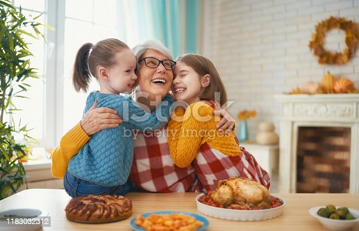 istock Happy Thanksgiving Day 1183032312
