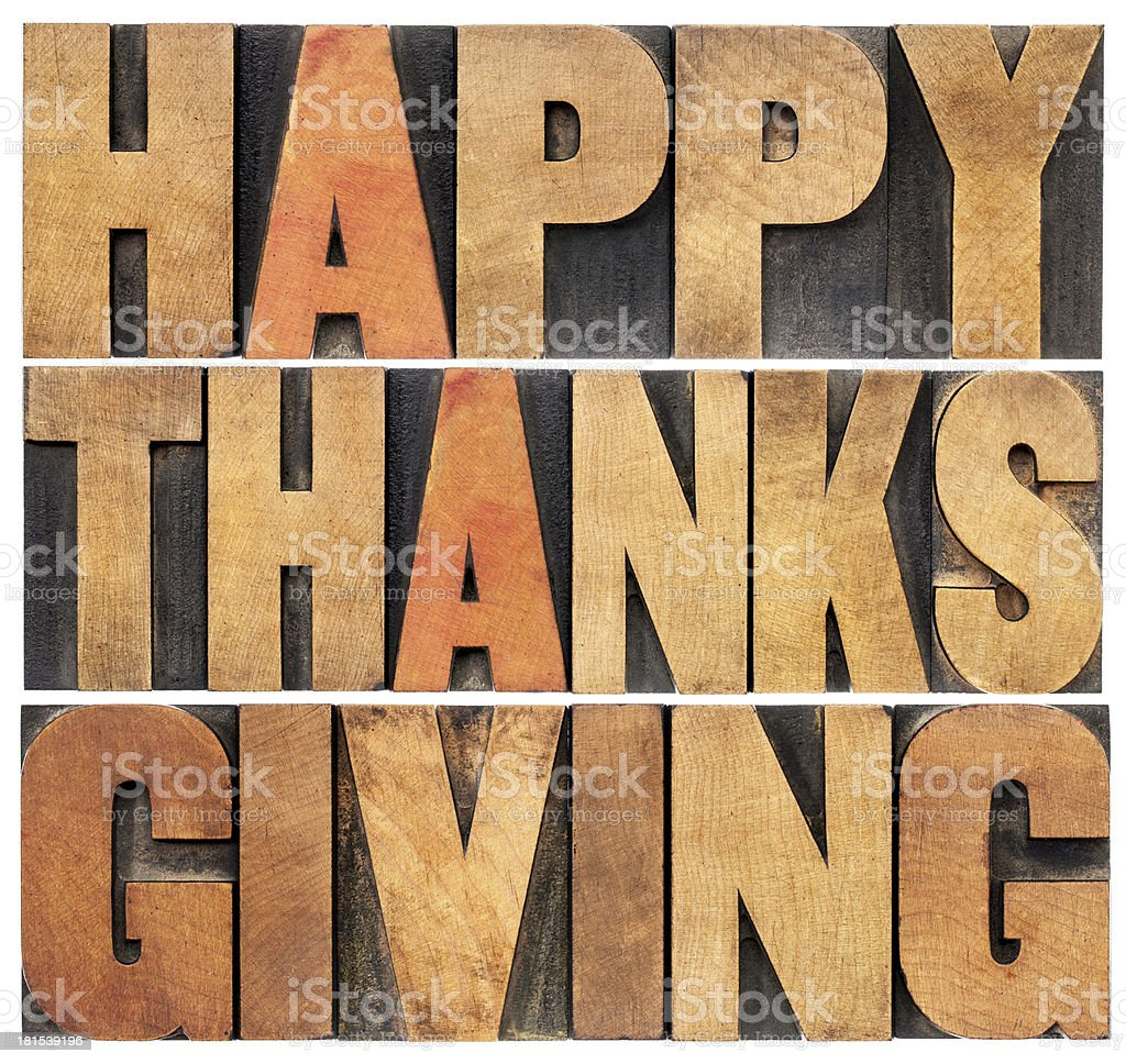 Happy Thanksgiving royalty-free stock photo