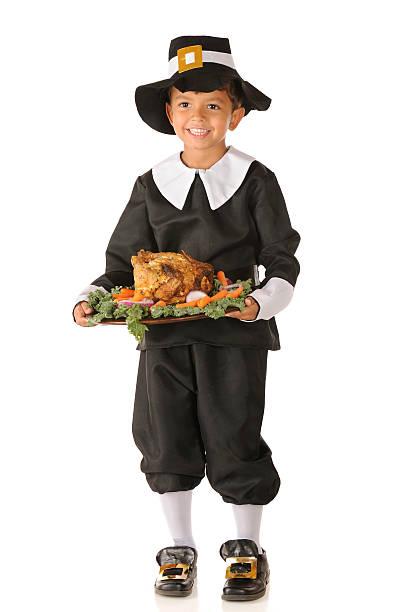 Happy Thanksgiving Pilgrim Boy An adorable preschool
