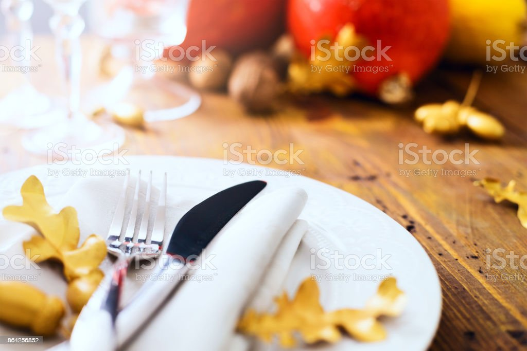 happy Thanksgiving; thanks giving dinner royalty-free stock photo