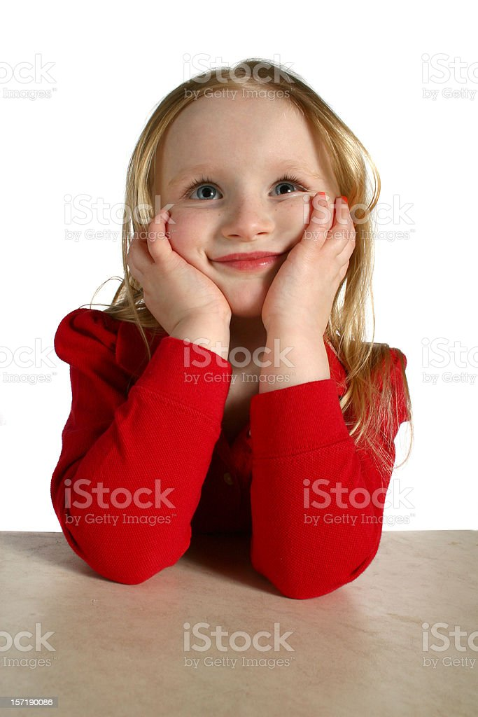 happy thoughts stock photo