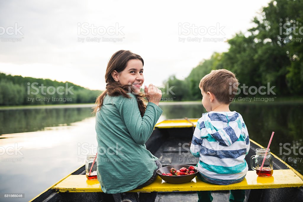 Happy times together stock photo
