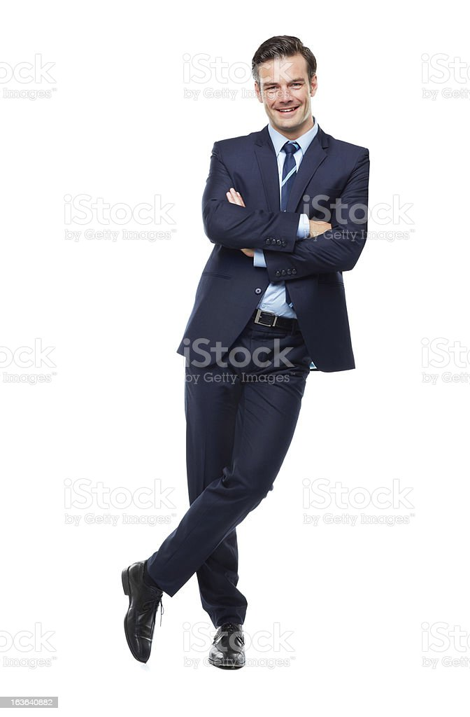 Happy to be supported by your business! stock photo